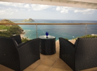 Master suite Terrace at St Lucia's Luxury Holiday Villa Rental