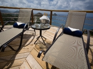 Enjoy Champagne on St Lucia's Best Holiday Villa Rental Sun Deck